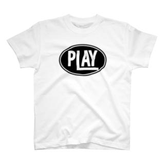 ELLIPSE LOGO BL ① T-shirts