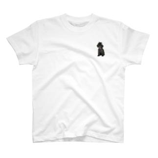 ボサボサちょんまげヒュー T-shirts