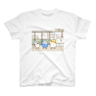鳥専用車両 T-shirts