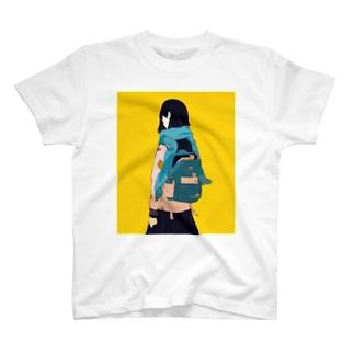 背中で語る T-shirts