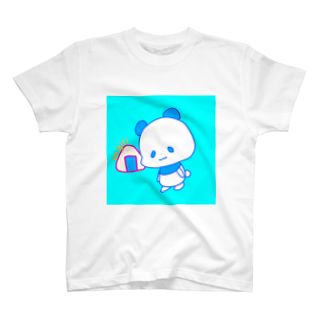 すかチルのおにぎりパンダブルー T-shirts