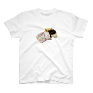 おやすみヒュー T-shirts