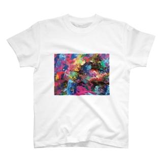 宇宙のどこか T-shirts