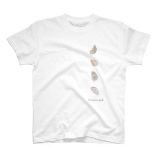 カキ(左並び) T-shirts