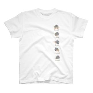 ヤドカリ行動解説 T-shirts