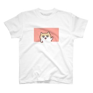 ヤホ!ってしてるコビハムちゃん T-shirts