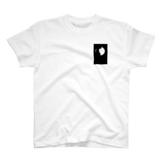 覗き穴 女の子 T-shirts