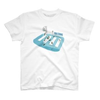ペンギン ブレーンストーミング T-shirts