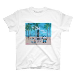 ハシビロコウのウクレレの旅C T-shirts