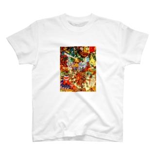 妖怪 T-shirts