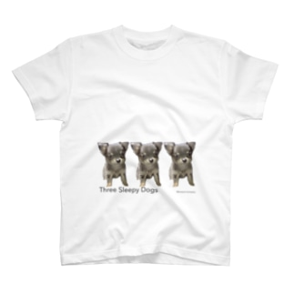 3匹の眠いぬ(下) T-shirts