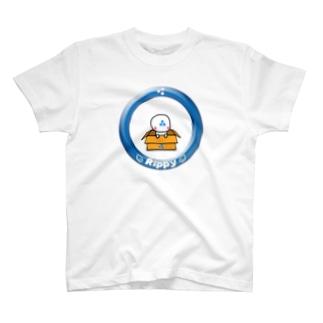 りっぴぃくんダンボールバージョン T-shirts