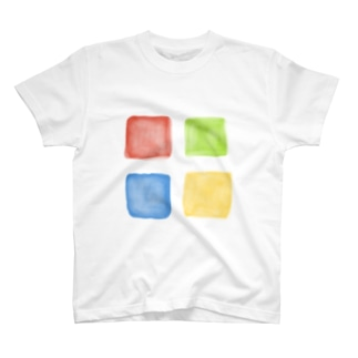 原色の窓 T-shirts