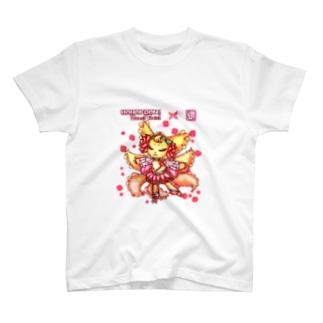❀花狐庵❀「コンリーナ」 T-shirts