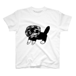 突撃!隣の晩御飯 ねこ T-shirts
