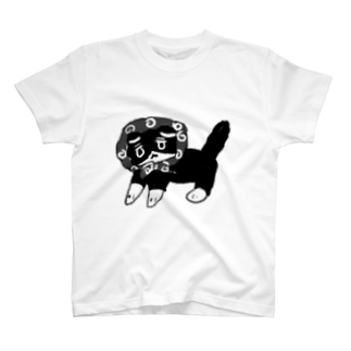 hona_の突撃!隣の晩御飯 ねこ T-shirts