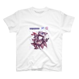 ❀花狐庵❀「サンゲコン」 T-shirts