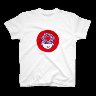 MOGUMO SHOPのしあわせくん T-shirts