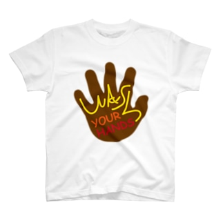 WASH YOUR HANDS T-shirts