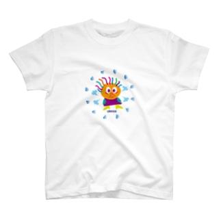 ダッフンダの憤慨クレコちゃん T-shirts