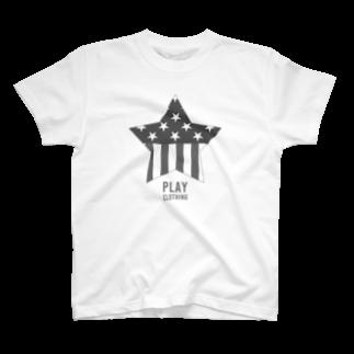 PLAY clothingのPLAY STAR MT① T-shirts