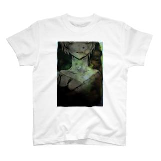 少年、眼 T-shirts