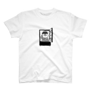 敬礼モグァンプ~家電エンブレム~ T-shirts