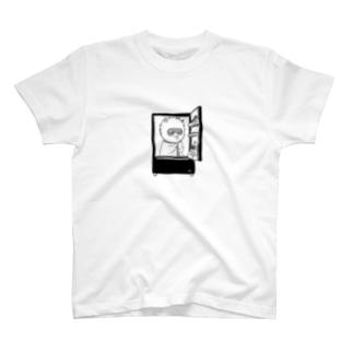 出発モグァンプ~家電エンブレム~ T-shirts