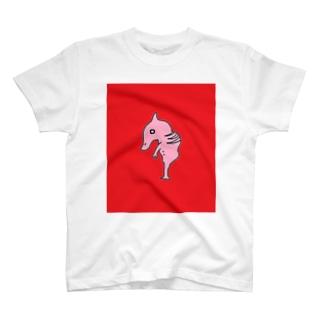 モンスターの胎児 T-shirts
