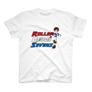 Roller Derby SevensのRoller Derby Sevens (Nanasuke) T-shirts