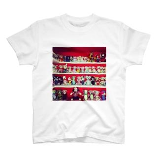 熊クマくま  T-shirts