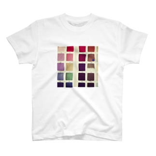 Color palette T-shirts