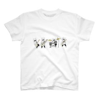 バンドシティニャンコ T-shirts