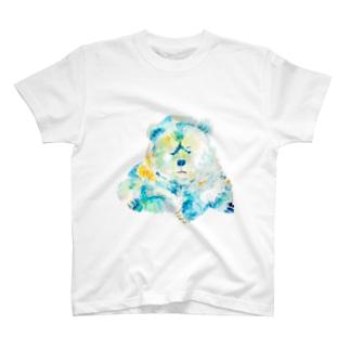 悩ましいクマ T-shirts