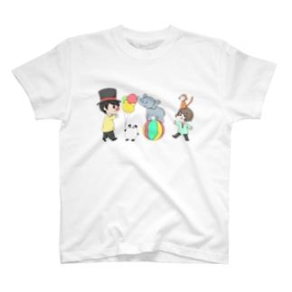 だぁ兄withりさ丸 T-shirts