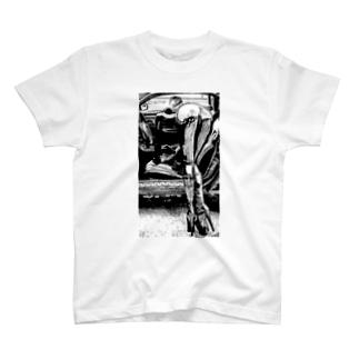 バックスタイルシート T-shirts