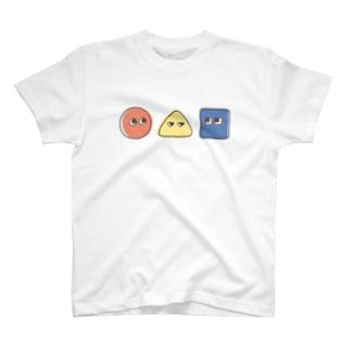 まるさんかくしかく T-shirts