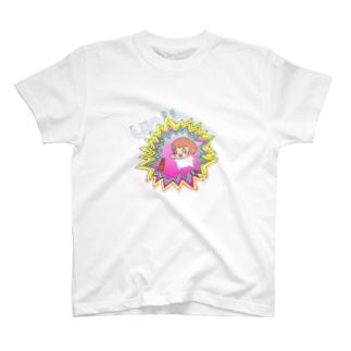 オー!ユニラシ/カラープリント T-shirts