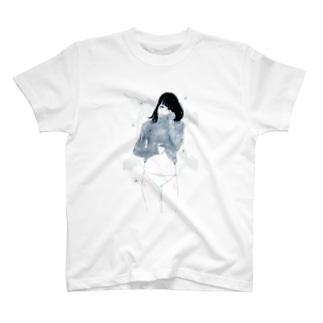 タナカ ヒロキのサンカヨウ 透き通り T-shirts
