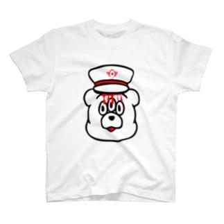 エキセントリッククアニマル くま T-shirts