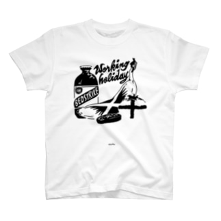 workingholiday tee/2 T-shirts