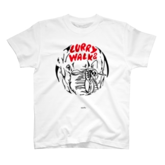 CURRY&WALK TEE/2 T-shirts