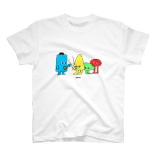 カタチ3 T-shirts