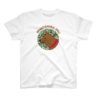 【NEW】美濃柴犬レッド T-shirts