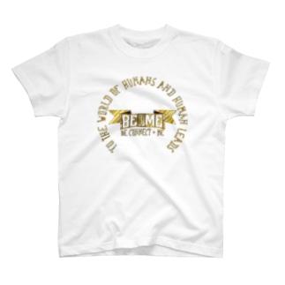 Be+Meオリジナルロゴ(ゴールド) T-shirts