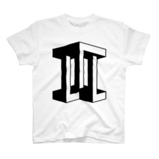 不可能図形「Ⅲ」 T-shirts