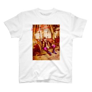 平日マスクグラフィック-レトロ- T-shirts