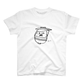 おやじ丼 T-shirts