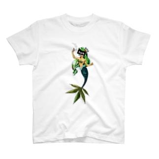 リトル・マーメイド 「fuck」 T-Shirt