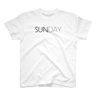 SUNDAY. T-shirts